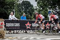 Team Lotto Soudal riders on speed. <br /> <br /> 11th Heistse Pijl 2018<br /> Turnhout > Heist-op-den Berg 194km (BEL)