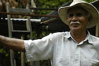 Farmer in rural Costa Rica.