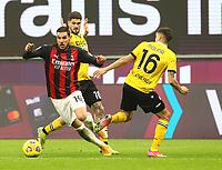 Milano 03-03-2021<br /> Stadio Giuseppe Meazza<br /> Serie A  Tim 2020/21<br /> Milan - Udinese<br /> nella foto: Theo Hernandez                                                     <br /> Antonio Saia