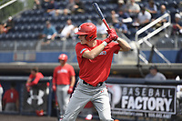 TEMPORARY UNEDITED FILE:  Image may appear lighter/darker than final edit - all images cropped to best fit print size.  <br /> <br /> Under Armour All-American Game presented by Baseball Factory on July 19, 2018 at Les Miller Field at Curtis Granderson Stadium in Chicago, Illinois.  (Mike Janes/Four Seam Images) Gunnar Henderson is an infielder from John T. Morgan High School in Selma, Alabama committed to Auburn.