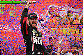 Monster Energy NASCAR Cup Series<br /> Tales of the Turtles 400<br /> Chicagoland Speedway, Joliet, IL USA<br /> Sunday 17 September 2017<br /> Martin Truex Jr, Furniture Row Racing, Furniture Row/Denver Mattress Toyota Camry celebrates in victory lane<br /> World Copyright: Logan Whitton<br /> LAT Images