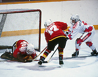 Kim Ratushny Team Canada 1990. Photo copyright F. Scott Grant
