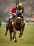 JULY 24, 2021: United with Flavien Prat defeats Smooth Like Strait and Umberto Rispoli to win the Eddie Read Stakes at Del Mar Fairgrounds in Del Mar, California on July 24, 2021. Evers/Eclipse Sportswire/CSM