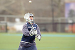 Baltimore- February 4: Travis Crane of Penn State during the exhibition between Johns Hopkins and Penn State at Homewood Field on February 04, 2012 in Baltimore, MD.