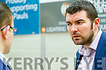 Brendan Griffin, Fine Gael pictured at the count centre in Killarney on Sunday last.