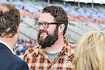 Rutledge Wood in action before the NASCAR AAA Texas 500 race at Texas Motor Speedway in Fort Worth,Texas.