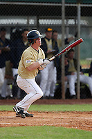 February 27, 2010:  Catcher Matt Malloy of West Virginia Mountaineers during the Big East/Big 10 Challenge at Raymond Naimoli Complex in St. Petersburg, FL.  Photo By Mike Janes/Four Seam Images