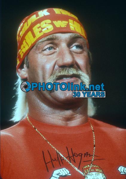 Hulk Hogan, 1989, Photo By John Barrett/PHOTOlink