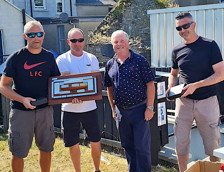 Last Race Decider at Flying Fifteen Northern Championships at Portaferry Sailing Club