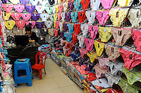 CHINA Province Guandong, Guangzhou , export and whole sale markets for textiles and underwear / CHINA , Provinz Guangdong , Metropole Guangzhou (Kanton) , Grossmaerkte fuer Textilien fuer den Export