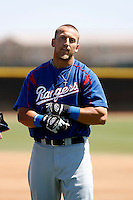 Mike Bianucci  - Texas Rangers - 2009 spring training.Photo by:  Bill Mitchell/Four Seam Images