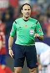 Spanish referee Mateu Lahoz during Spanish Kings Cup match. January 27,2016. (ALTERPHOTOS/Acero)