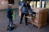 Photo: Richard Lane/Richard Lane Photography. Wasps v Toulouse.  European Rugby Champions Cup. 08/12/2018. Food bank donation.