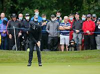 3rd July 2021; Mount Juliet Golf Club, Kilkenny, Ireland; Dubai Duty Free Irish Open Golf, Day Three; Rory Mcilroy of Northern Ireland putts on the 1st green
