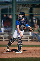 Kevin Krill during the Under Armour All-America Tournament powered by Baseball Factory on January 18, 2020 at Sloan Park in Mesa, Arizona.  (Mike Janes/Four Seam Images)