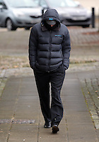COPY BY TOM BEDFORD<br /> Pictured: Police officer Jeremy Fowler arrives at Swansea Crown Court. Monday 20 February 2017<br /> Re: The trial for police officer Jeremy Fowler who is accused of sexual assault is due to start at Swansea Crown Court.