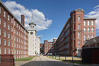 Mill Yard at Boott Mill, Lowell. MA National Historic Park