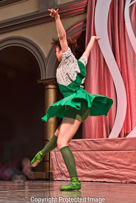 Dancer Touching Down