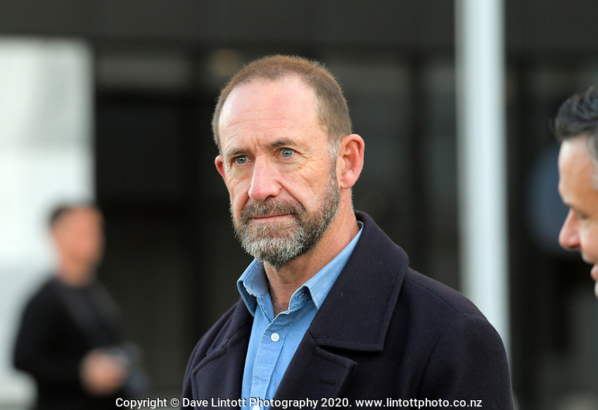 NZ Justice Minister Andrew Little. Black Lives Matter protest march from Civic Square to Parliament in Wellington, New Zealand on Sunday, 14 June, 2020. Photo: Dave Lintott / lintottphoto.co.nz