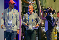 Lyon, France - Saturday June 09, 2018: Dave Sarachan during an international friendly match between the men's national teams of the United States (USA) and France (FRA) at Groupama Stadium.