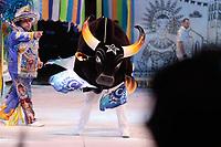 PARINTINS, AM, 28.06.2019: PARINTINS-AMAZONAS. Apresentação do Boi Caprichoso na primeira noite do 54o festival Folclorico de Parintins 2019, nesta sexta (28), no bumdódromo. Parintins fica a 370 km de Manaus.<br /> Foto: Sandro Pereira/Codigo19