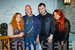 Michelle Jones, Dan, Danny and Michaela Brosnan enjoying the evening in Bella Bia on Friday