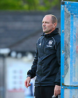 Cork City manager Colin Healy.<br /> <br /> Cobh Ramblers v Cork City, SSE Airtricity League Division 1, 28/5/21, St. Colman's Park, Cobh.<br /> <br /> Copyright Steve Alfred 2021.