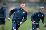 St Johnstone Training…..03.11.17<br />Denny Johnstone pictured during training this morning at McDiarmid Park ahead of tomorrows game against Celtic<br />Picture by Graeme Hart.<br />Copyright Perthshire Picture Agency<br />Tel: 01738 623350  Mobile: 07990 594431