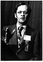 Jean Chretien, en 1978 (date exacte inconnue)<br /> <br /> PHOTO : JJ Raudsepp  - Agence Quebec presse