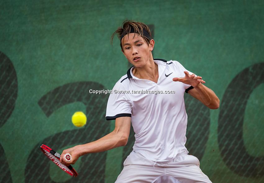 Hilversum, Netherlands, August 9, 2017, National Junior Championships, NJK, <br /> Photo: Tennisimages/Henk Koster