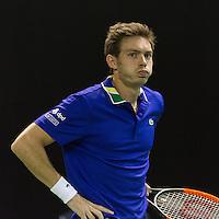 ABN AMRO World Tennis Tournament, Rotterdam, The Netherlands, 14 februari, 2017, Nicolas Mahut (FRA)<br /> Photo: Henk Koster