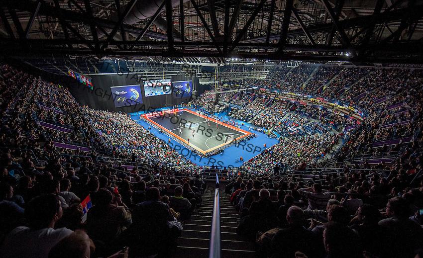 UEFA Euro 2016 Futsal Evropsko Prvenstvo, Srbija - Portugalija 6.2.1016. Februar 6. 2016. (credit image & photo: Pedja Milosavljevic / STARSPORT) total