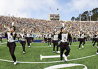 California Band perform on the field during 115th Big Game at Memorial Stadium in Berkeley, California on October 20th, 2012.  Stanford defeated California, 21-3.