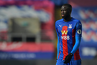 Cheikhou Kouyaté of Crystal Palace during the Premier League behind closed doors match between Crystal Palace and Fulham at Selhurst Park, London, England on 28 February 2021. Photo by Vince Mignott / PRiME Media Images.