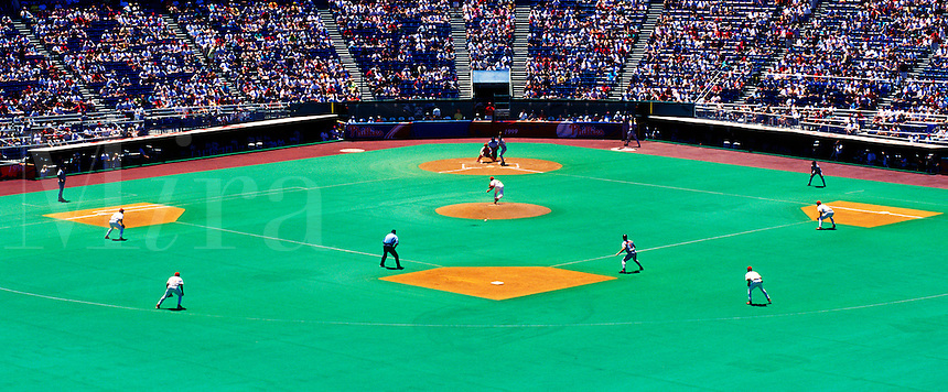 Professional baseball game, Philadelphia Phillies