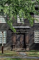 Allen House in historic Deerfield, Massachusetts, USA