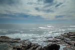 A day at Schoodic Point in Acadia National Park, Maine, USA