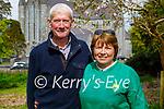Enjoying a stroll in the Demesne in Killarney on Sunday,  l to r: Dan and Peg Doherty