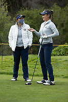 STANFORD, CA - APRIL 24: Beverly Terry, Kristine Tran at Stanford Golf Course on April 24, 2021 in Stanford, California.