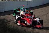 #8: Marcus Ericsson, Chip Ganassi Racing Honda, #88: Colton Herta, Andretti Harding Steinbrenner Autosport Honda
