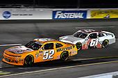 #52: David Starr, Means Motorsports, Chevrolet Camaro and #61: Chad Finchum, Motorsports Business Management, Toyota Supra MBM Motorsports