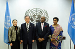 The Secretary-General will receive credentials from the following new Permanent Representative to the United Nations:..- H.E. Mr. David Daroll Tommy, Gambia..