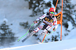 FIS Alpine Ski World Cup - Covid-19 Outbreak -  2nd Men's Downhill Ski event on 19/12/2020 in Val Gardena, Gröden, Italy. In action the French Roy Piccard.<br /> © Pierre Teyssot