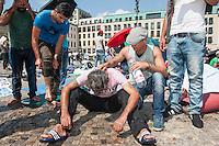 2014/07/18 Berlin | Flüchtlinge im Hungerstreik