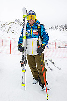 15th October 2020, Rettenbachferner, Soelden, Austria; FIS World Cup Alpine Skiing free practise training;  Ted Ligety of the USA during a free practice session for the men s Giant Slalom of FIS ski alpine world cup opening