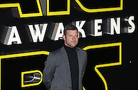 Dermot O'Leary attends the STAR WARS: 'The Force Awakens' EUROPEAN PREMIERE at Odeon, Empire & Vue Cinemas, Leicester Square, England on 16 December 2015. Photo by David Horn / PRiME Media Images