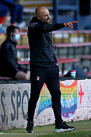 4th May 2021; Kenilworth Road, Luton, Bedfordshire, England; English Football League Championship Football, Luton Town versus Rotherham United; Rotherham United Manager Paul Warne
