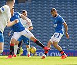 22.08.2020 Rangers v Kilmarnock: Kemar Roofe scores for Rangers
