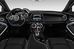 Stock photo of straight dashboard view of 2018 Chevrolet CAMARO 2LT 2 Door coupe Dashboard