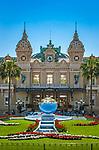 Fuerstentum Monaco, an der Côte d'Azur, Stadtteil Monte Carlo: Casino Monte-Carlo | Principality of Monaco, on the French Riviera (Côte d'Azur), district Monte Carlo: Casino Monte-Carlo